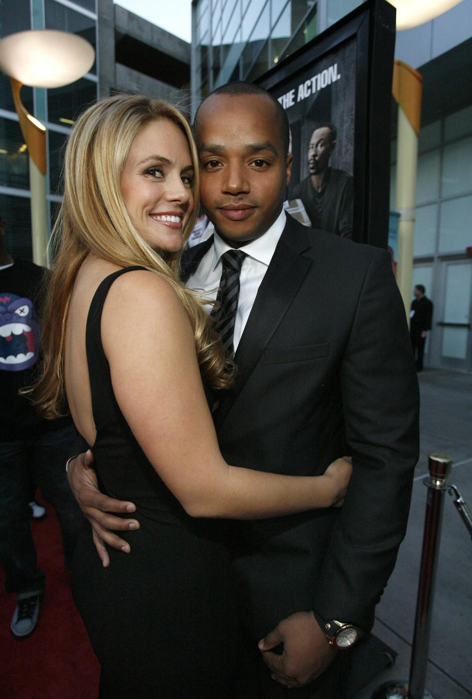 Donald Faison and CacCee Cobb