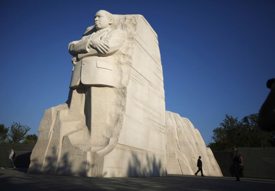 "Martin Luther King Jr's ""I Have a Dream"" Quotes Adorn his New Memorial in Washington"