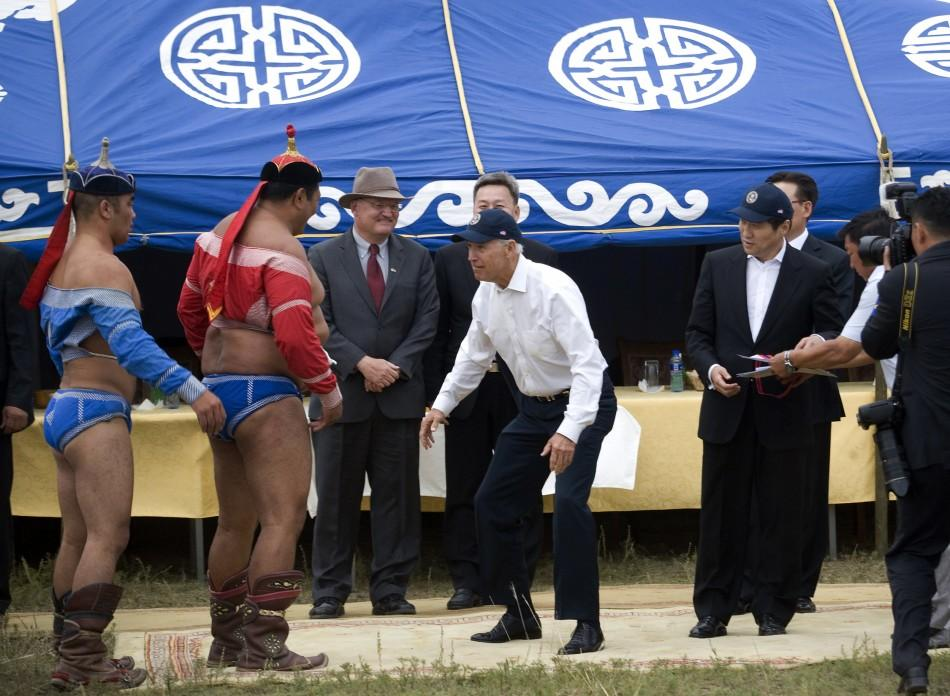 Joe Biden Mongolia (1 of 5)
