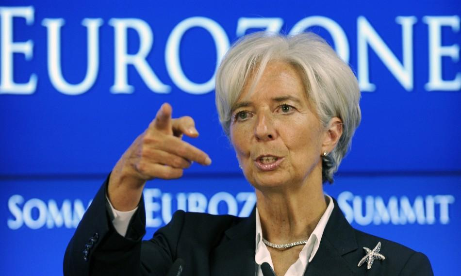 No. 9 - IMF Managing Director Christine Lagarde