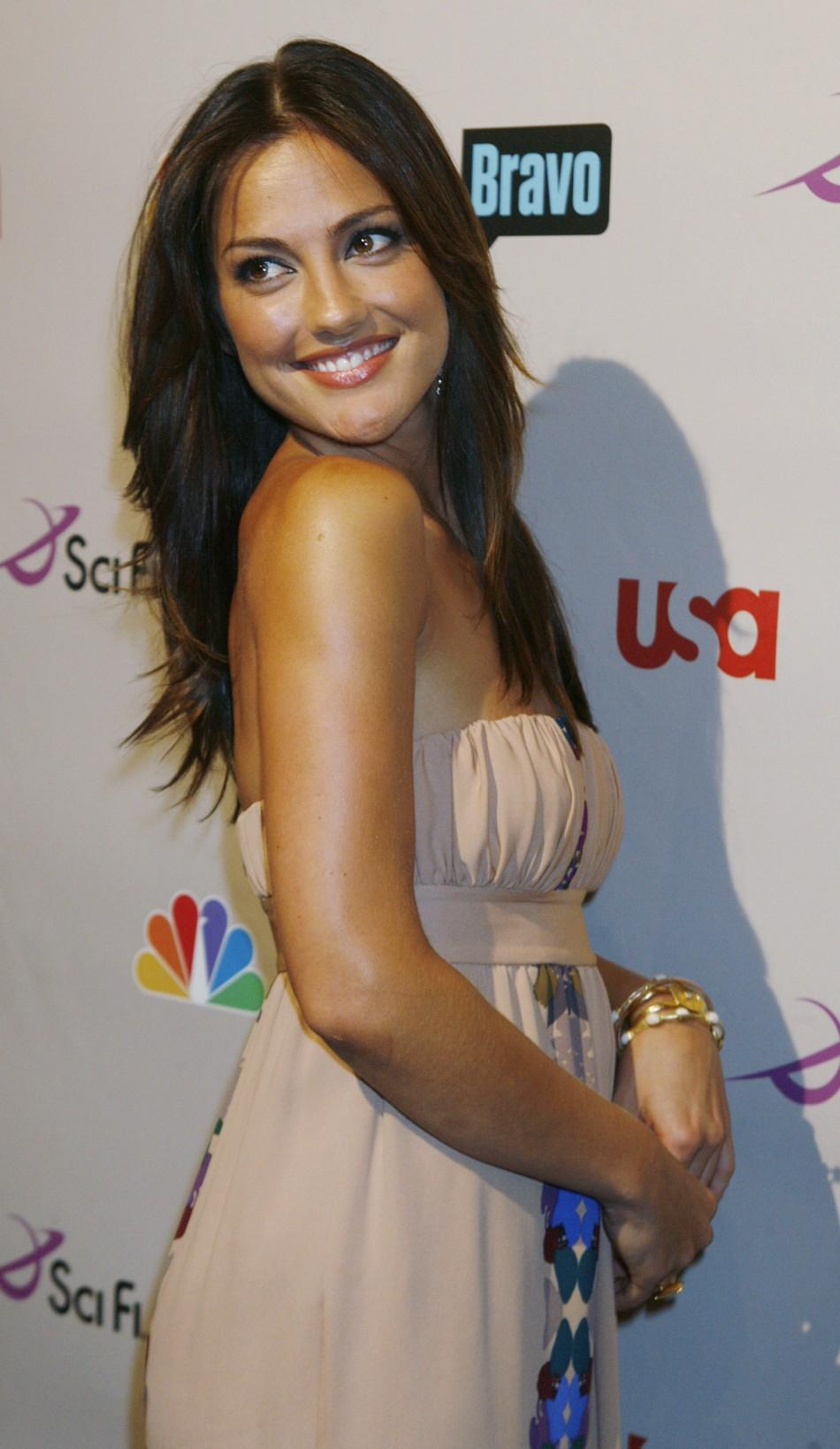 Actress Minka Kelly at the NBC All-Star party in Beverly Hills