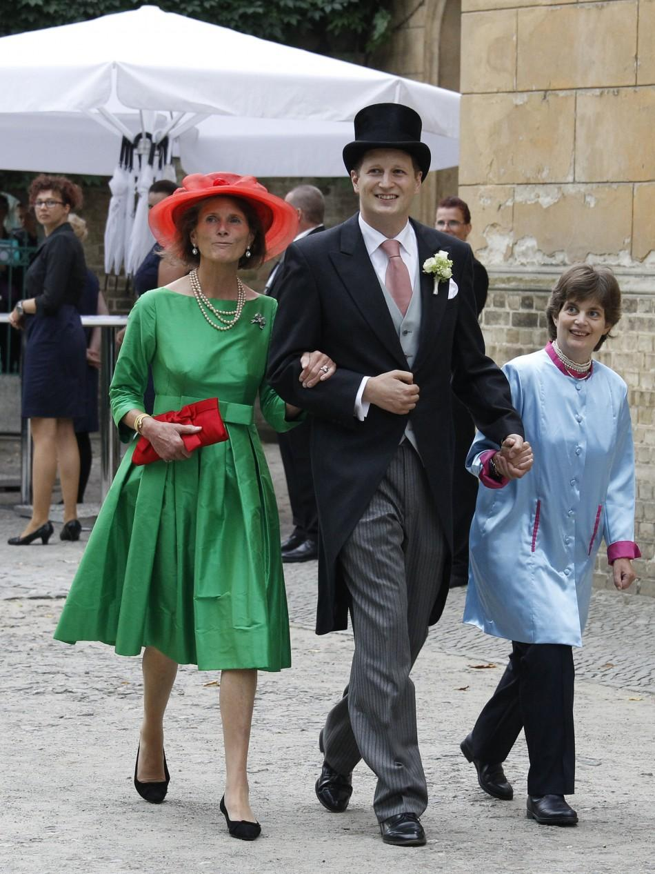 Outdated and All Frilled Dresses Rule German Royal Wedding