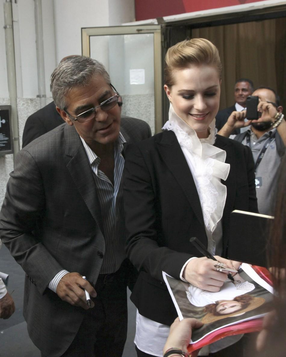 George Clooney, Evan Rachel Wood