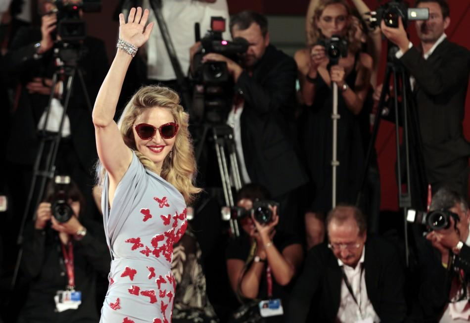 'I am a Material Girl': Well, Madonna's Style at Venice Film Festival says it All