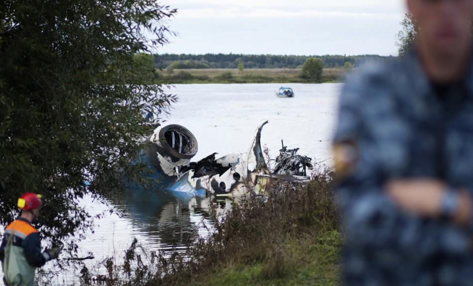 KHL Plane Crash