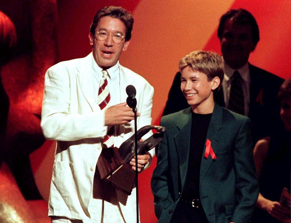 Jonathan Taylor Thomas and Tim Allen