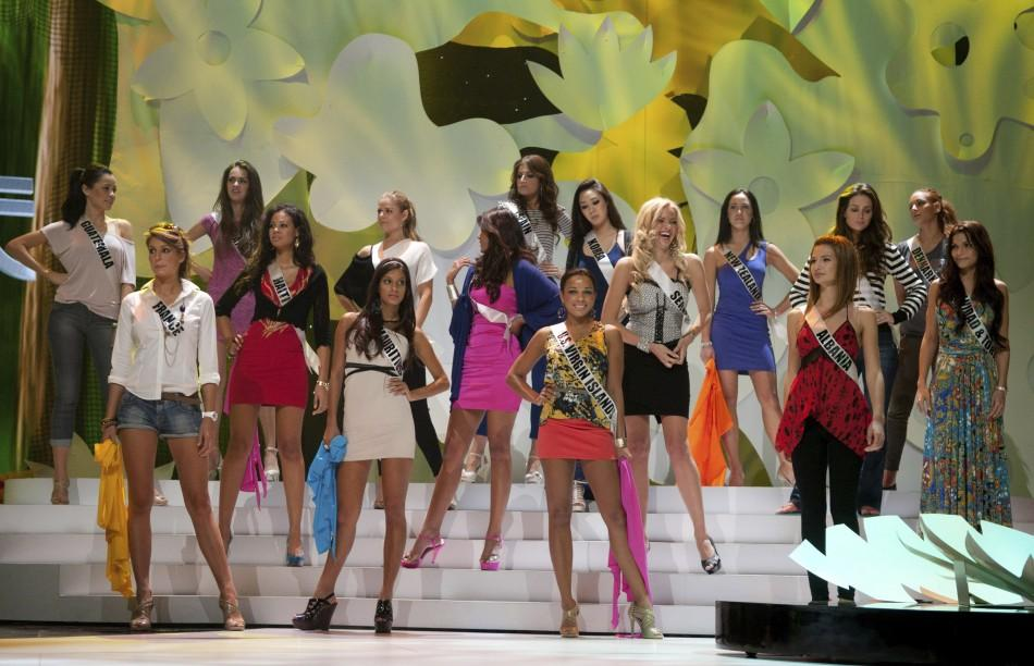 Miss Universe 2011 contestants