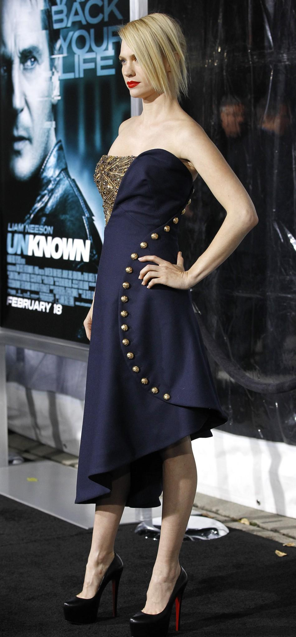 January Jones 'Unknown' Premiere