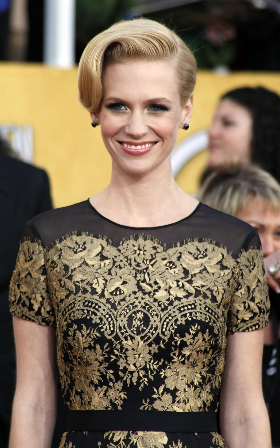 January Jones Screen Actors Guild Awards