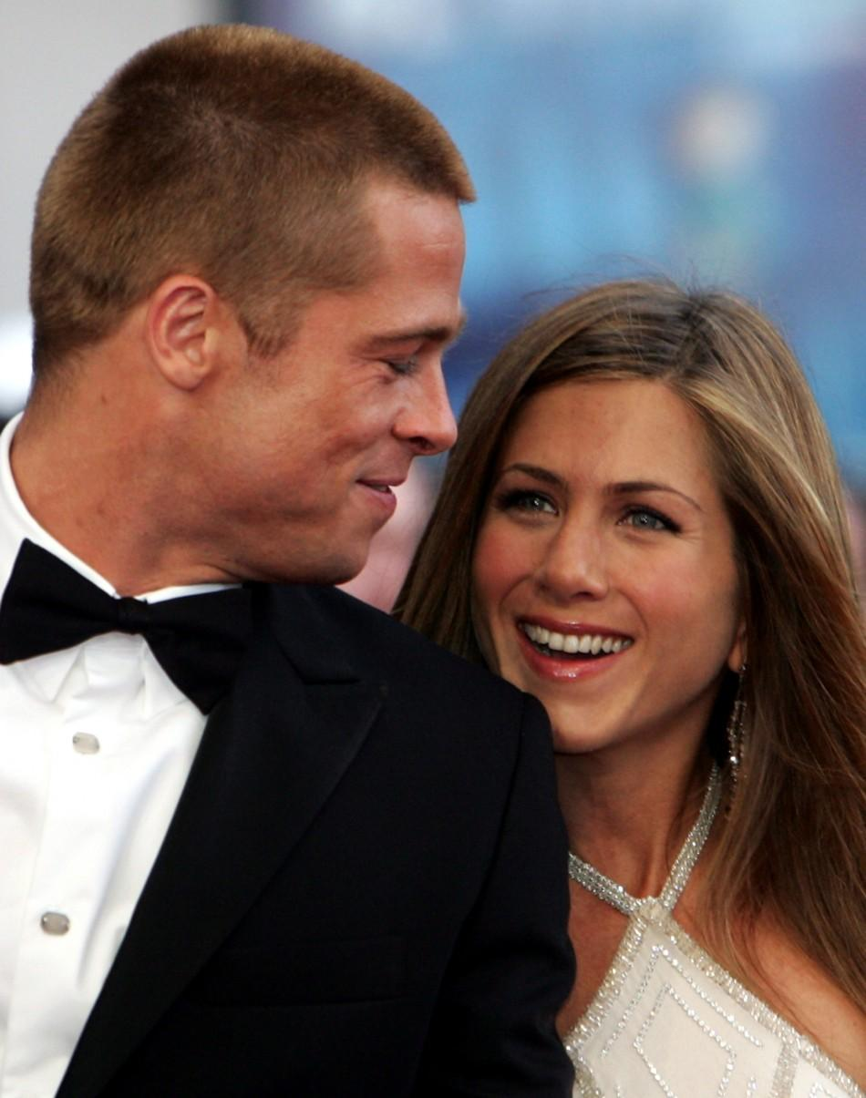Hollywood power couple Brad Pitt and Jennifer Aniston