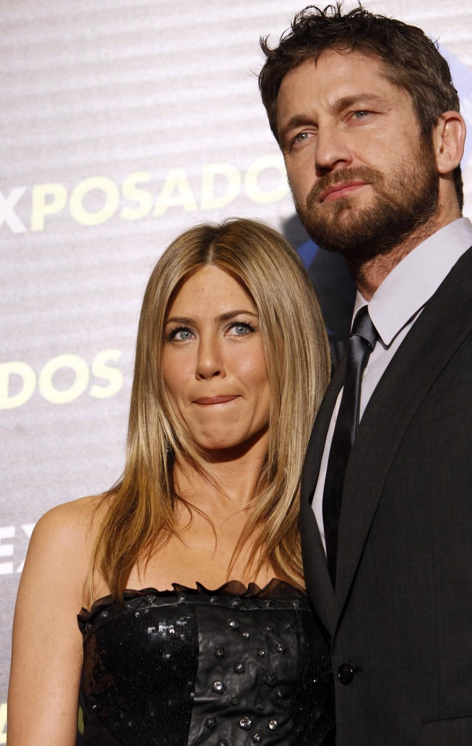 Jenifer with Actor Gerald Butler