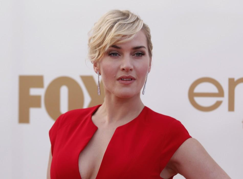 Actress Kate Winslet arrives at the 63rd Primetime Emmy Awards in Los Angeles September 18, 2011.