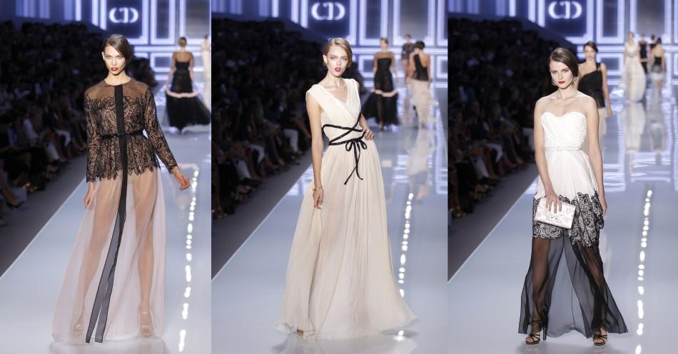 Models Flaunt Sheer, See-through 2012 Fashion Collection in 'Ready-to-wear' Fashion Show, Paris [PHOTOS]