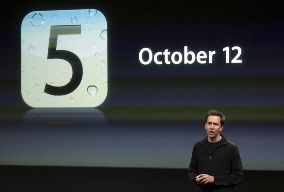 Apple Senior VP of iPhone Software Scott Forstall