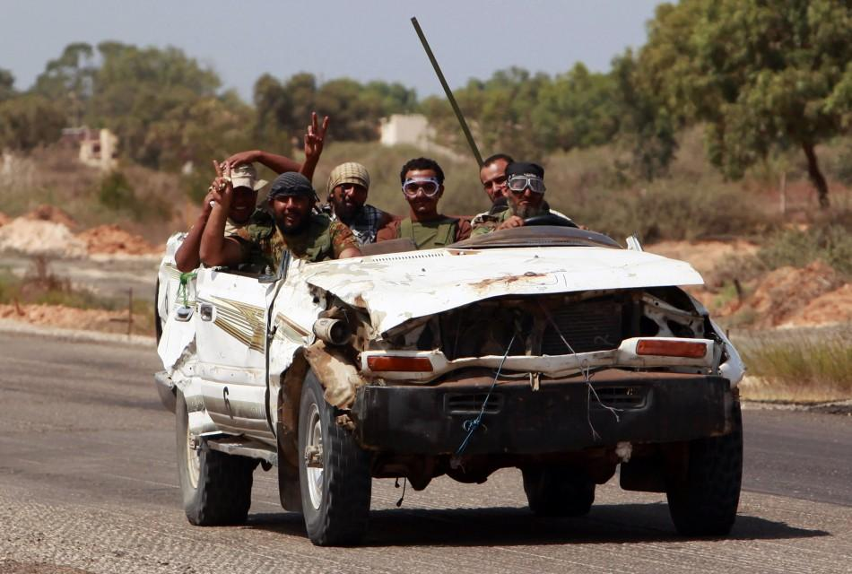 Libya vehicles of war
