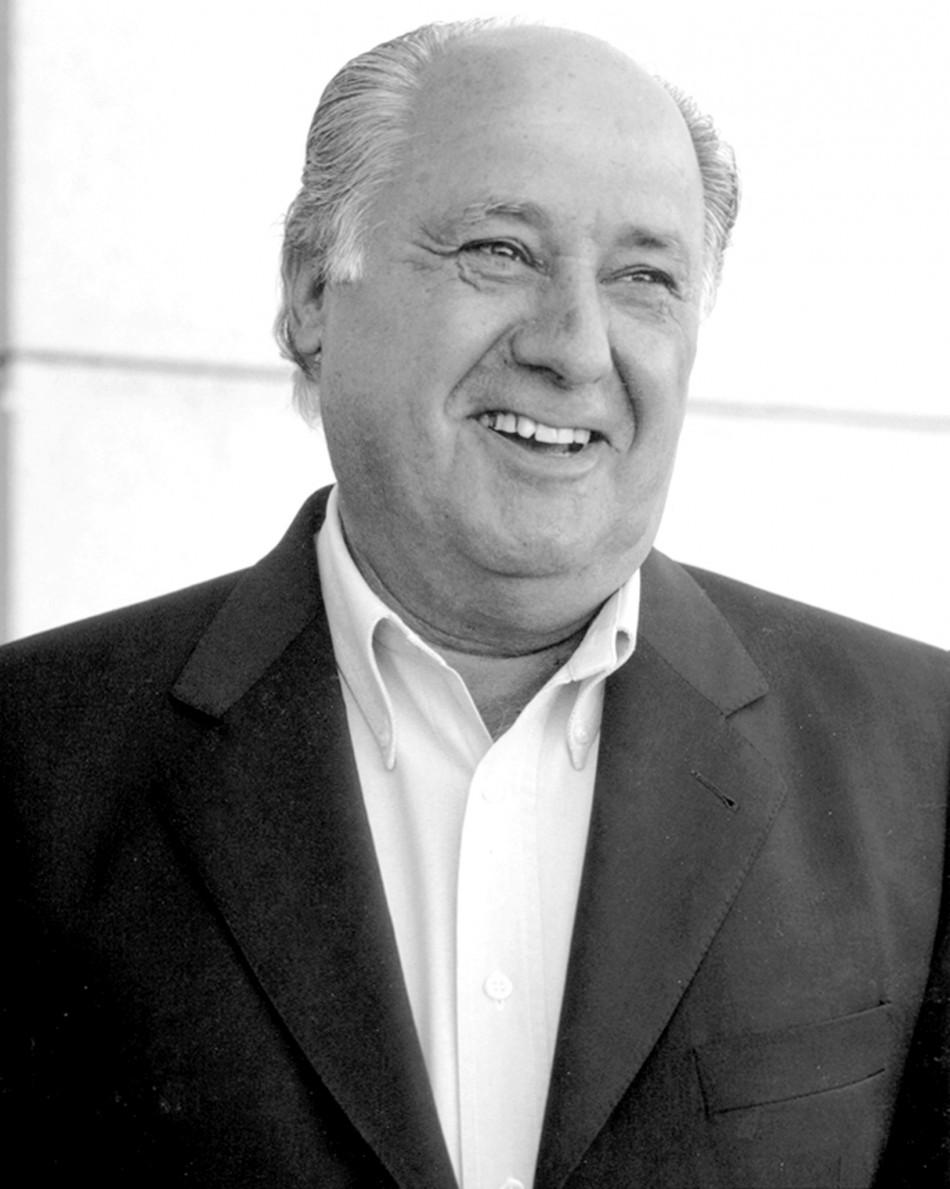 7. Amancio Ortega, $31 billion, Spanish fashion entrepreneur.
