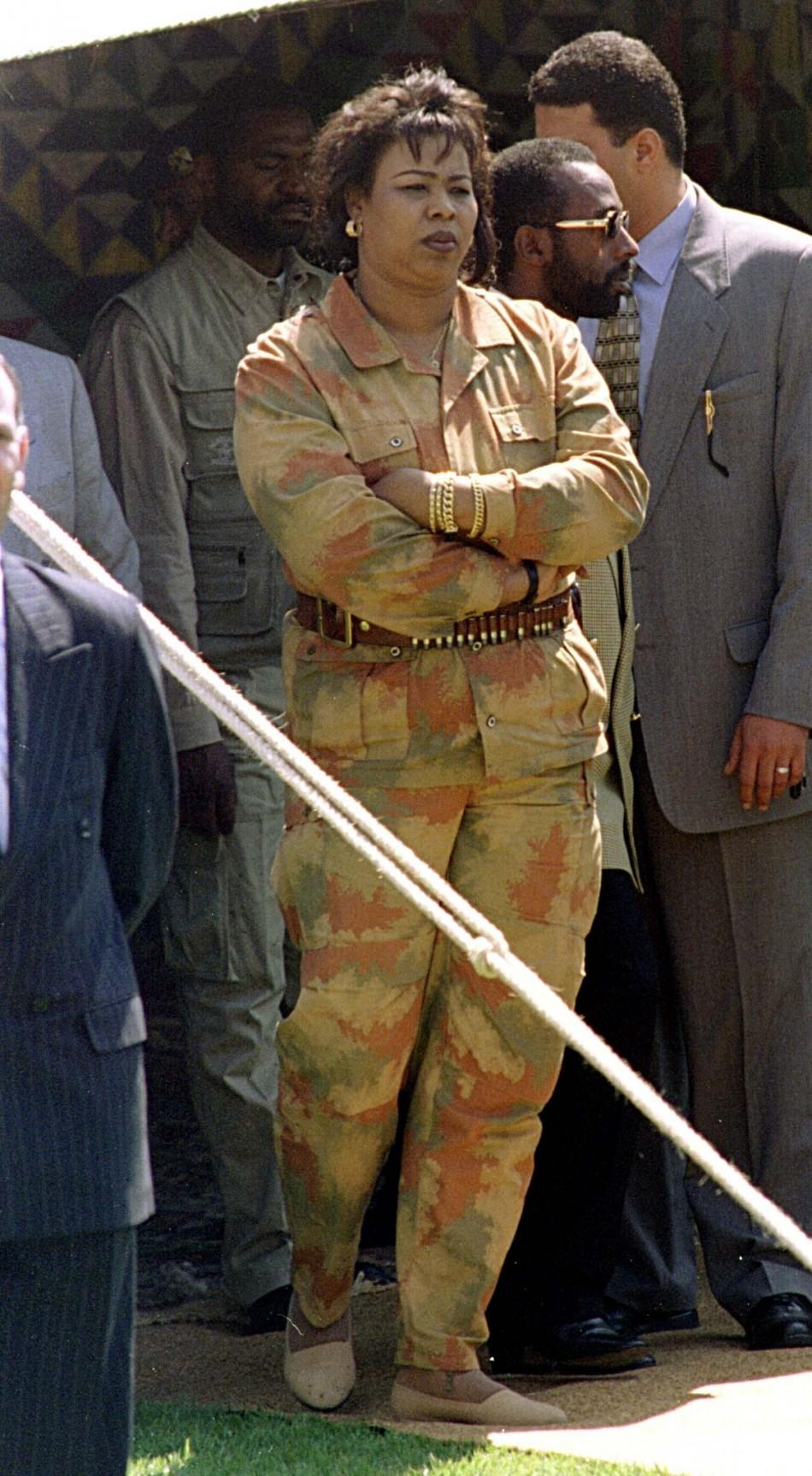 Moammar Gadhafi and Female Body Guards