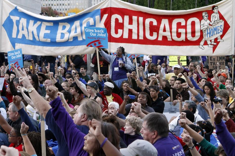 Occupy Chicago Movement