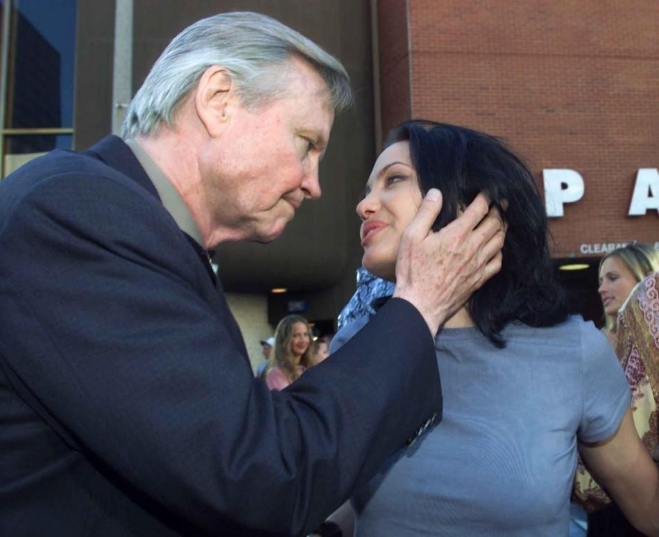 John Voight and Angelina Jolie