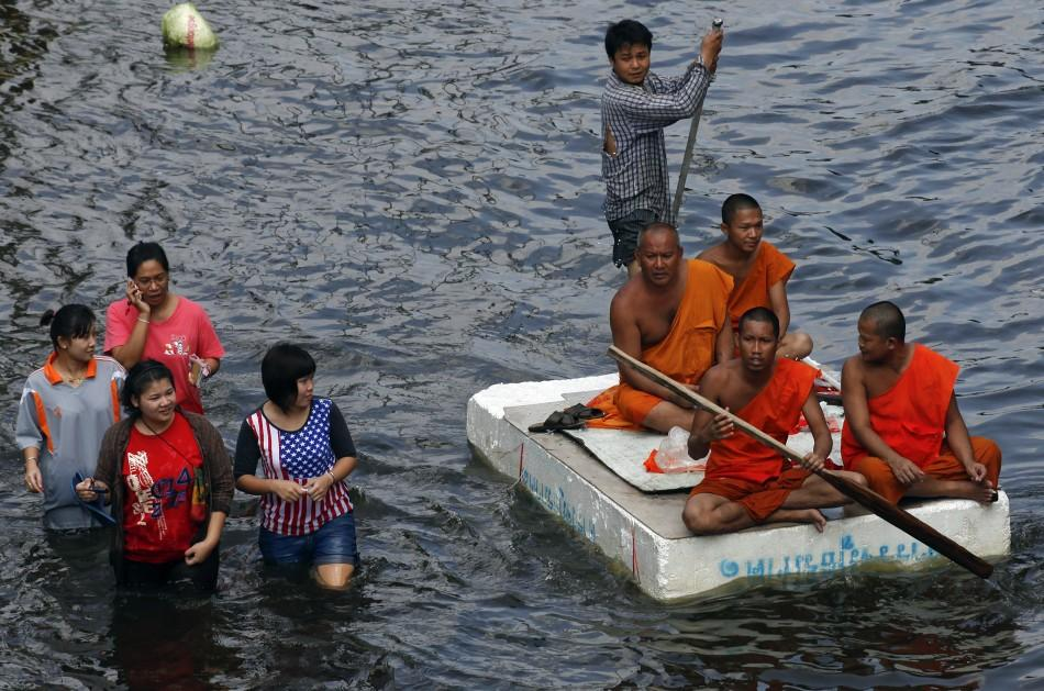 Bangkok flood 1