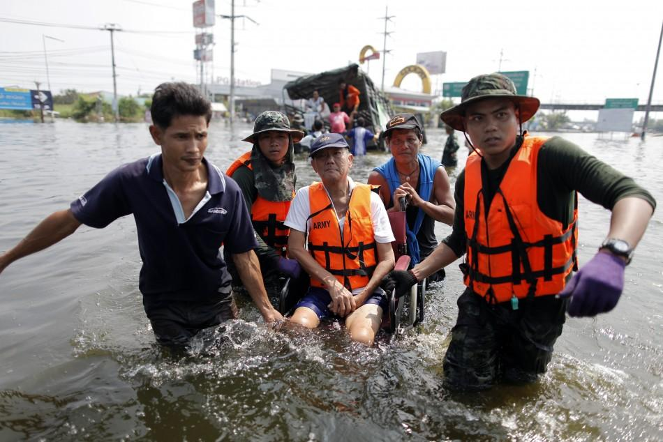 Bangkok flood 7