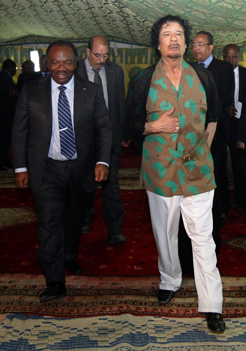 Moammar Gadhafi Dead: Libyan Leader's Exclusive Fashion Statements