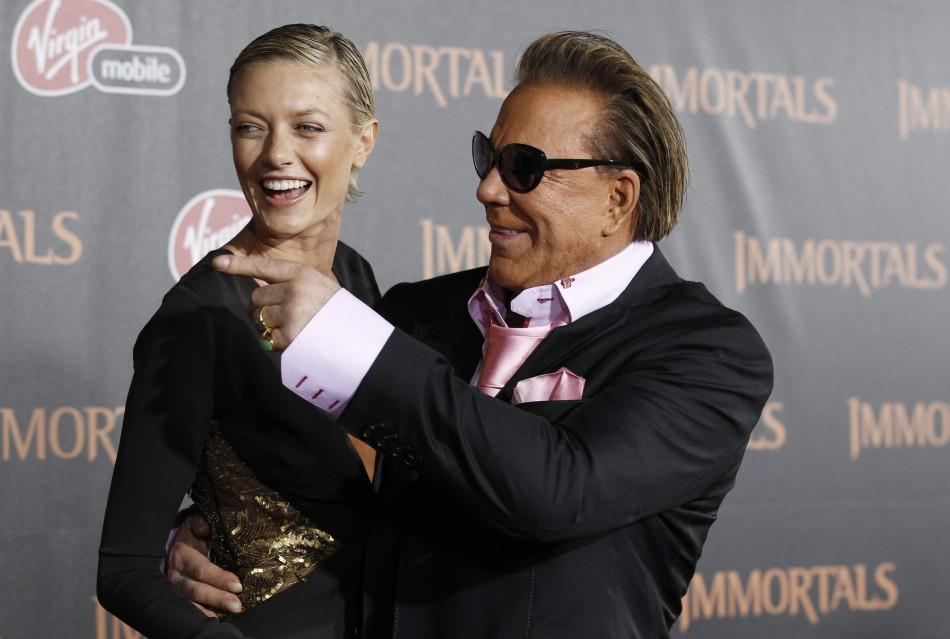 Mickey Rourke and girlfriend Anastasia Makarenko