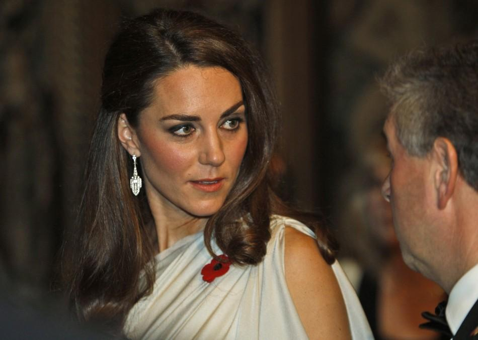 Kate Middleton Dons One-Shoulder Jenny Packham at St. James's Gala Dinner