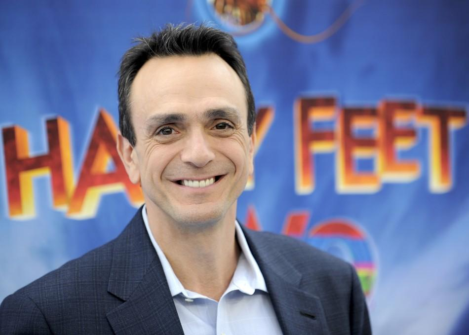 "Actor and voice of The Mighty Sven, Hank Azaria, arrives at the premiere of ""Happy Feet Two"" in the Hollywood area of Los Angeles, California"