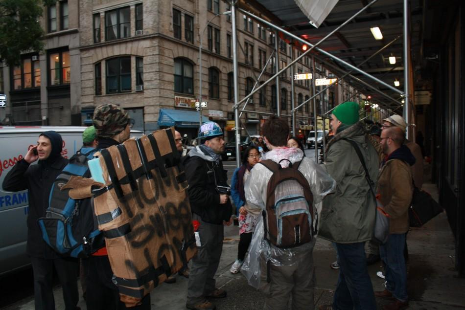 Occupy the Subway 1