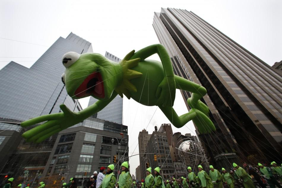 Preparations Start for Macy's 85th Annual Thanksgiving Parade