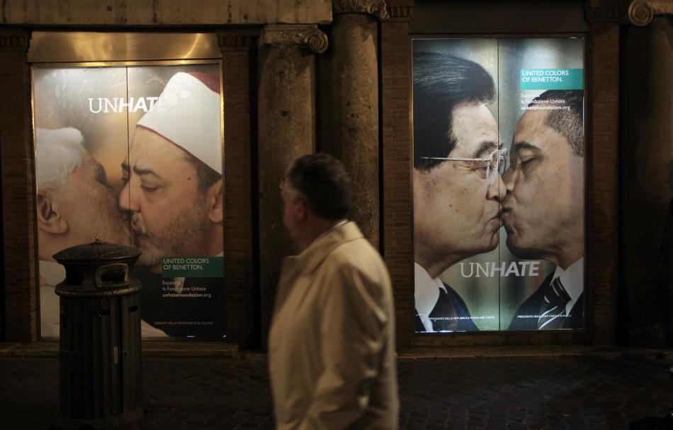 Benetton's Controversial Kissing Ad in Israel
