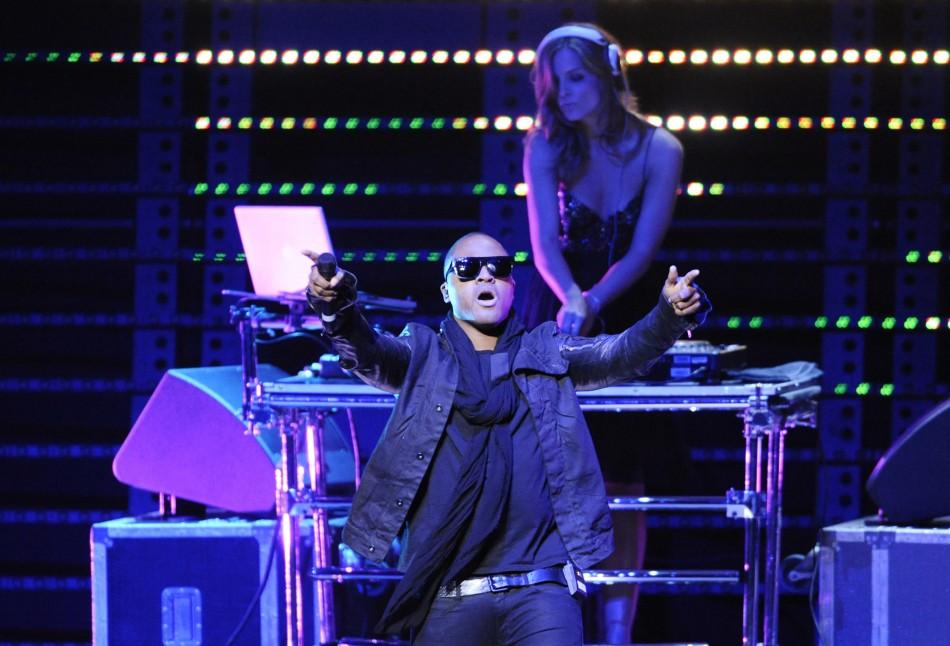 Taio Cruz performs at the 102.7 KIIS FM's Jingle Ball 2011 in Los Angeles