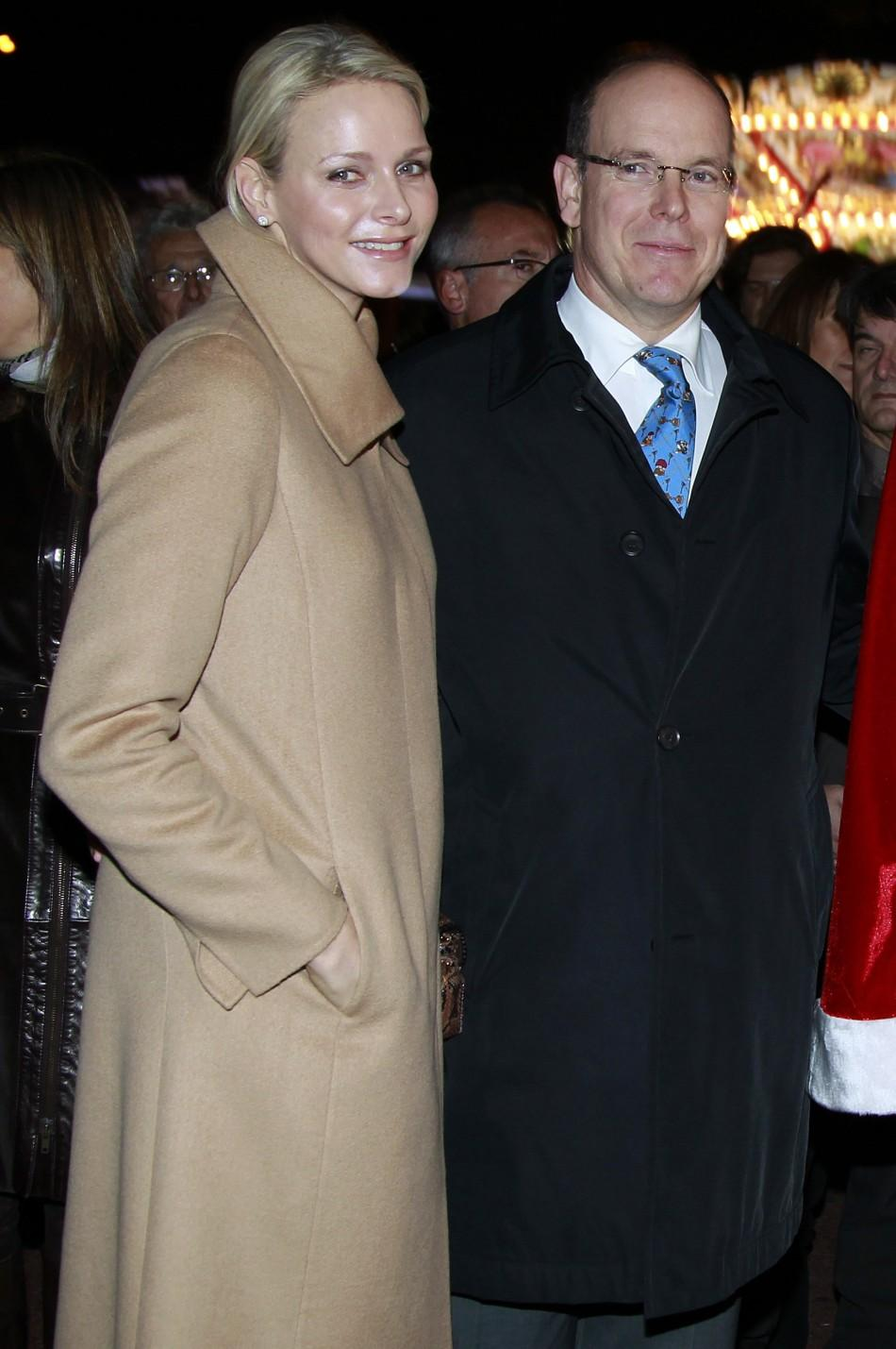 Prince Albert and Charlene Whitstock