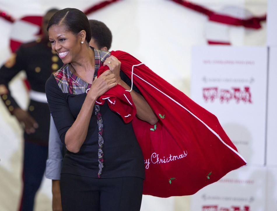 Michele Obama Donates 800 Toys and Gifts