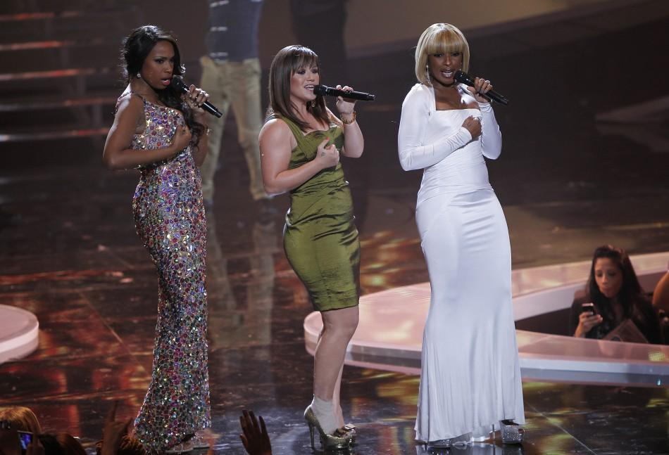 Jennifer Hudson, Kelly Clarkson, Mary J. Blige