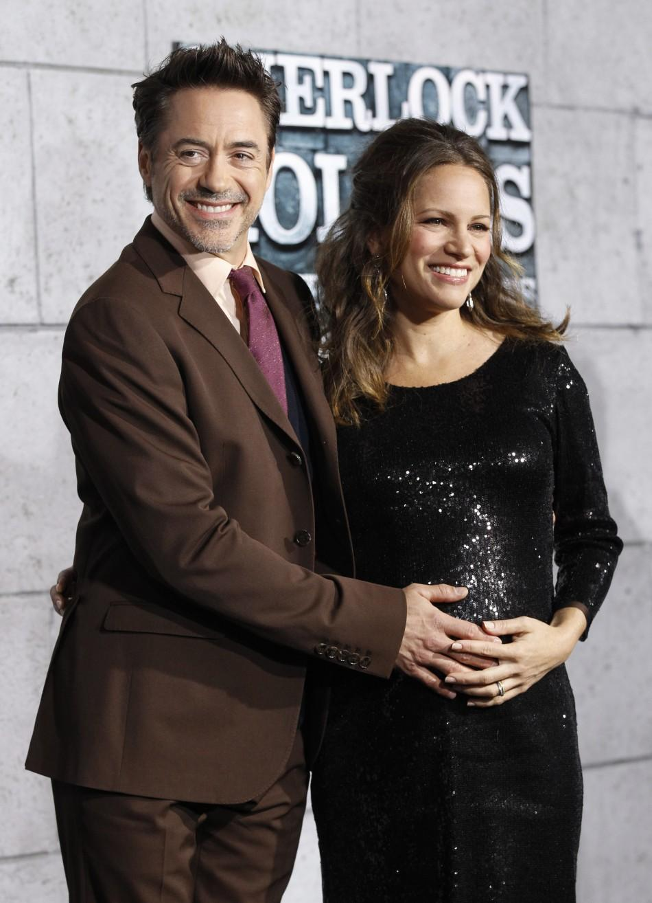 Robert Downey Jr.'s wife Susan Levin