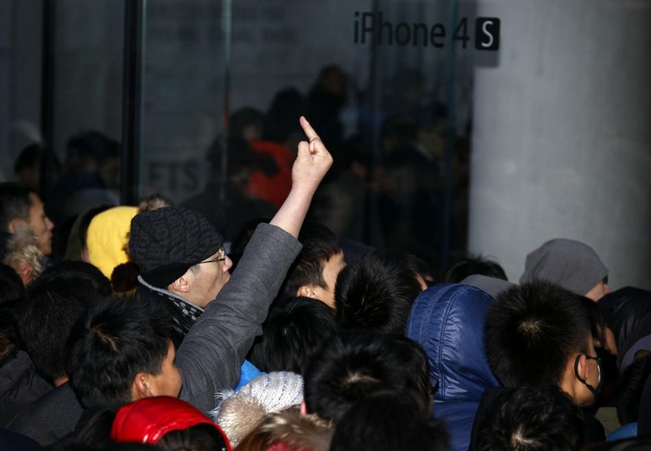 Beijing Apple Store Sealed Due to Fracas over Cancelation of iPhone 4S Sale