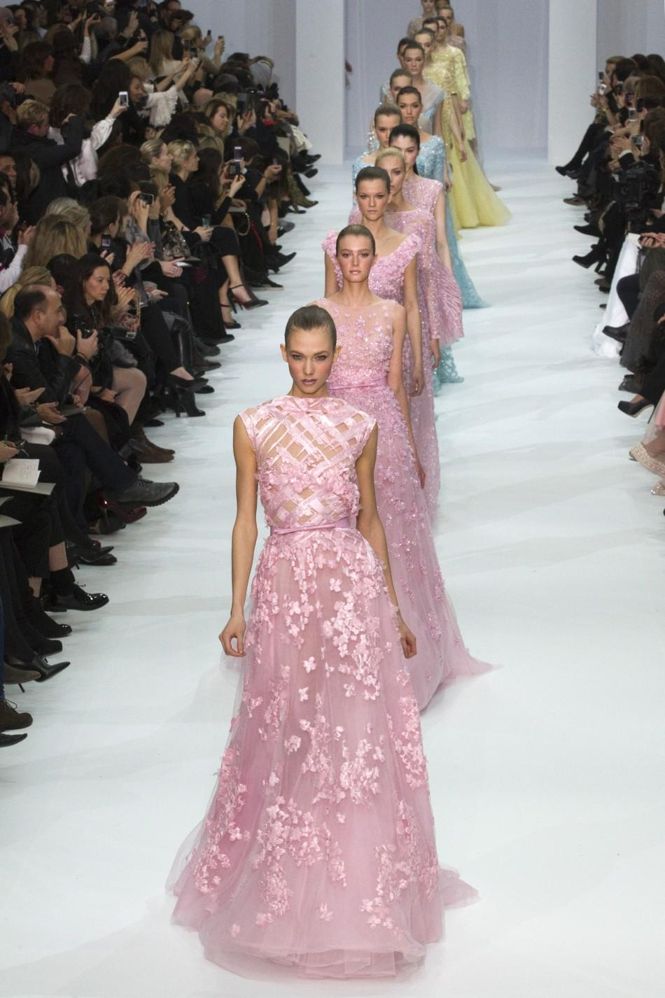 Paris Haute Couture Fashion Week 2012