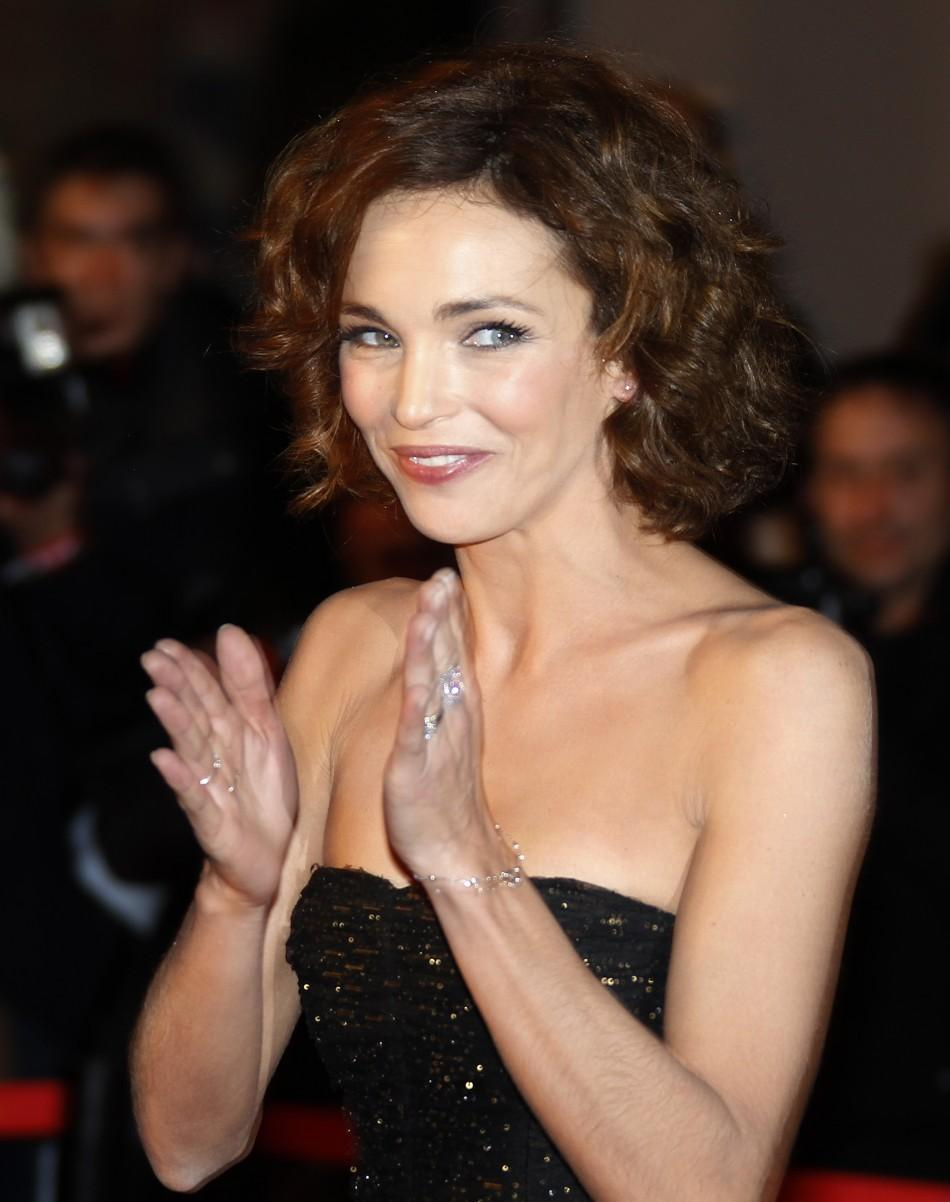 French actress Claire Keim arrives at the Cannes festival palace to attend the NRJ Music Awards in Cannes January 28,2012.