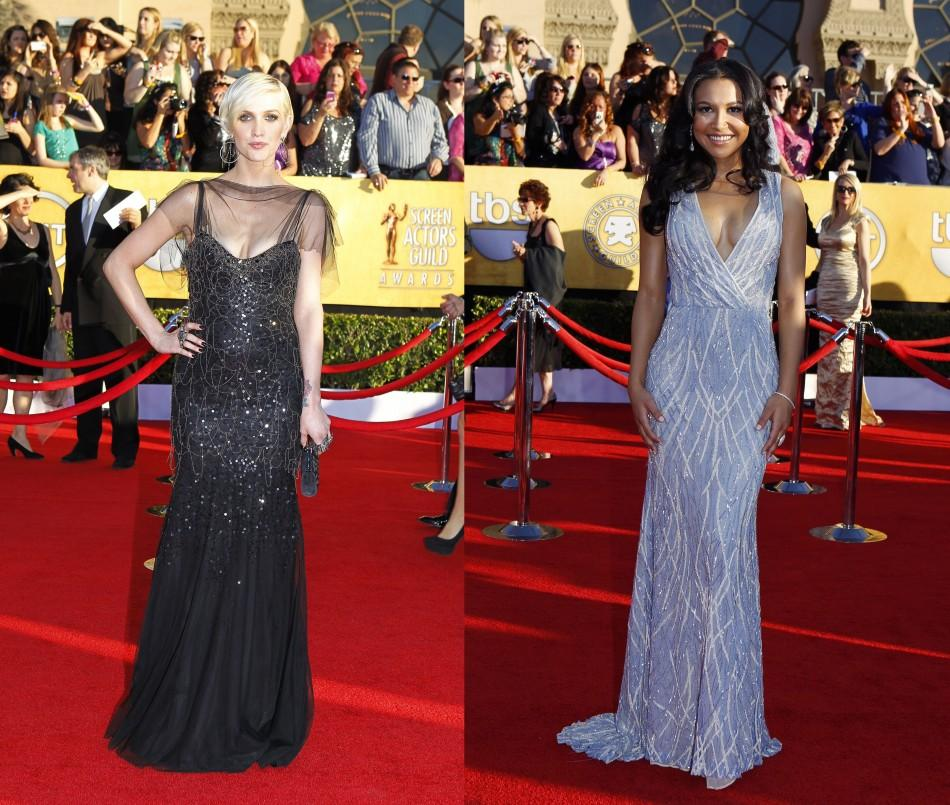 SAG Awards 2012 in Los Angeles: Light vs. Dark Hued Red Carpet Gowns