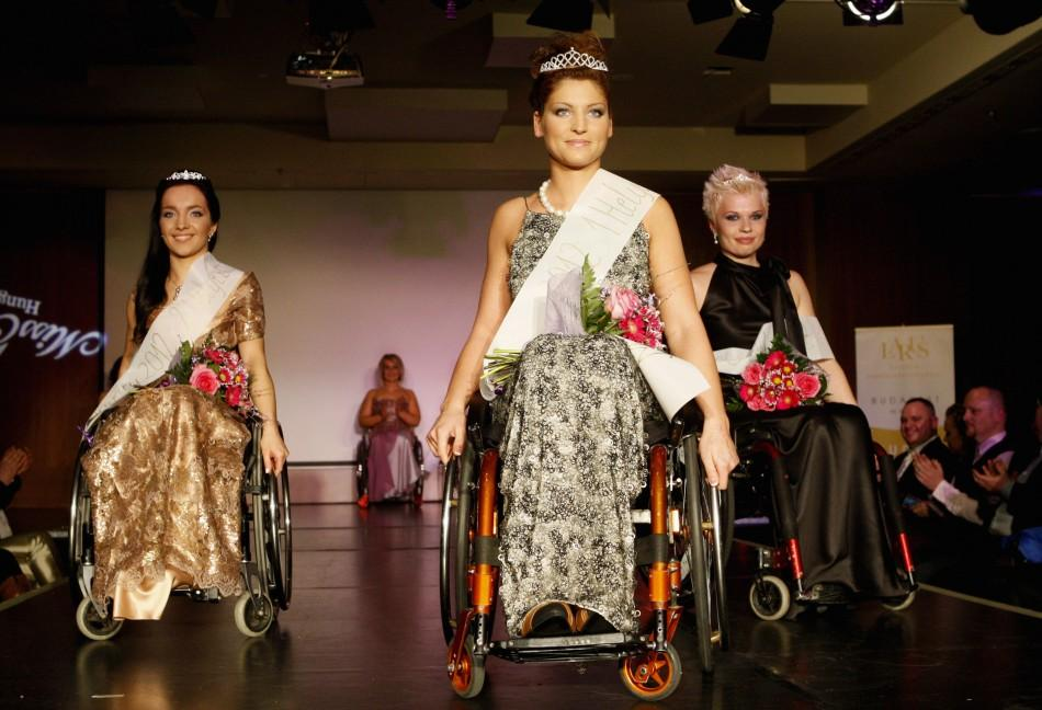 Hungary Hosts Europe's First Wheelchair Beauty Pageant
