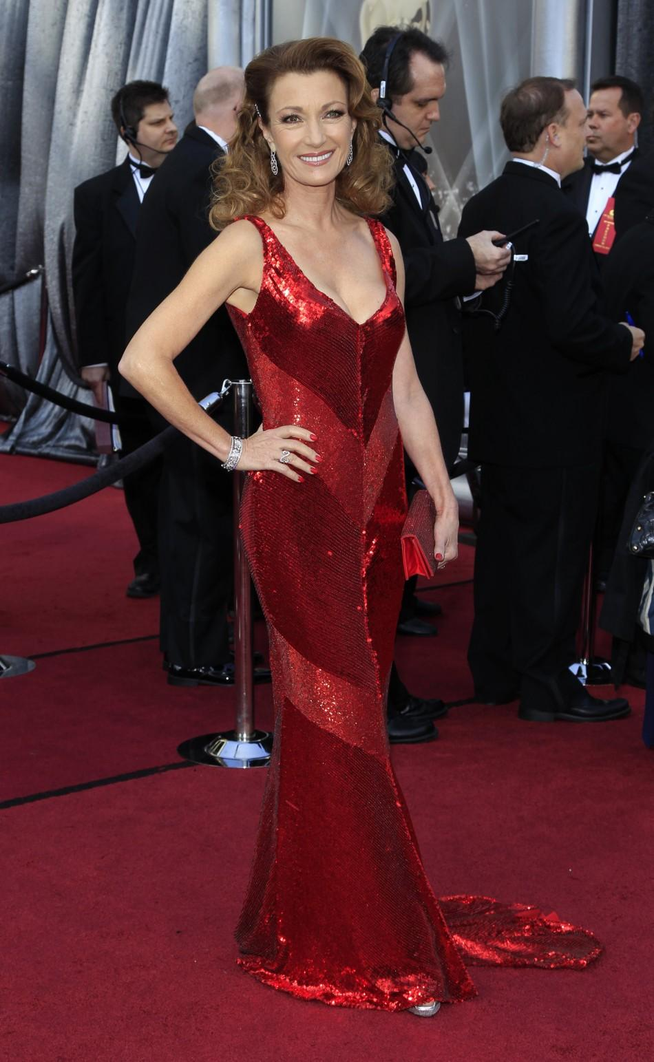 Actress Jane Seymour arrives at the 84th Academy Awards in Hollywood, California February 26, 2012.