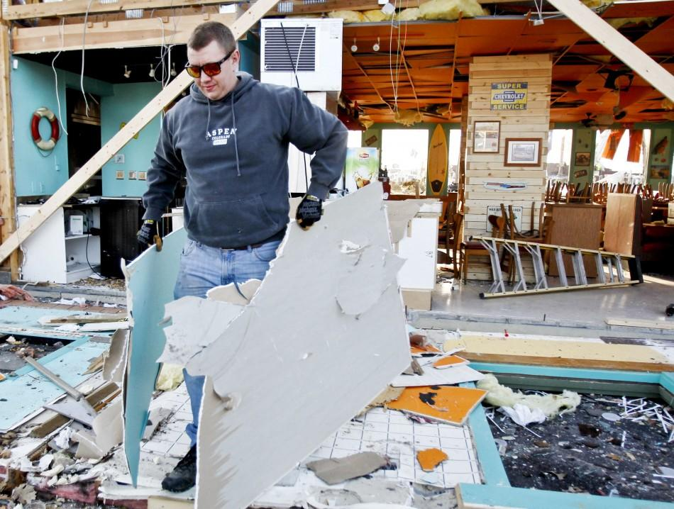 Massive Storm System Tears Through Midwest