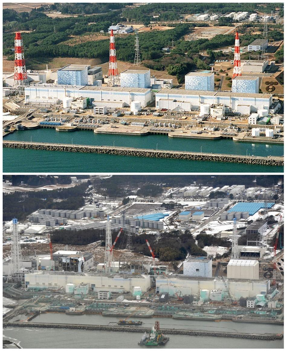 Japan: Before and After March 11 Tsunami