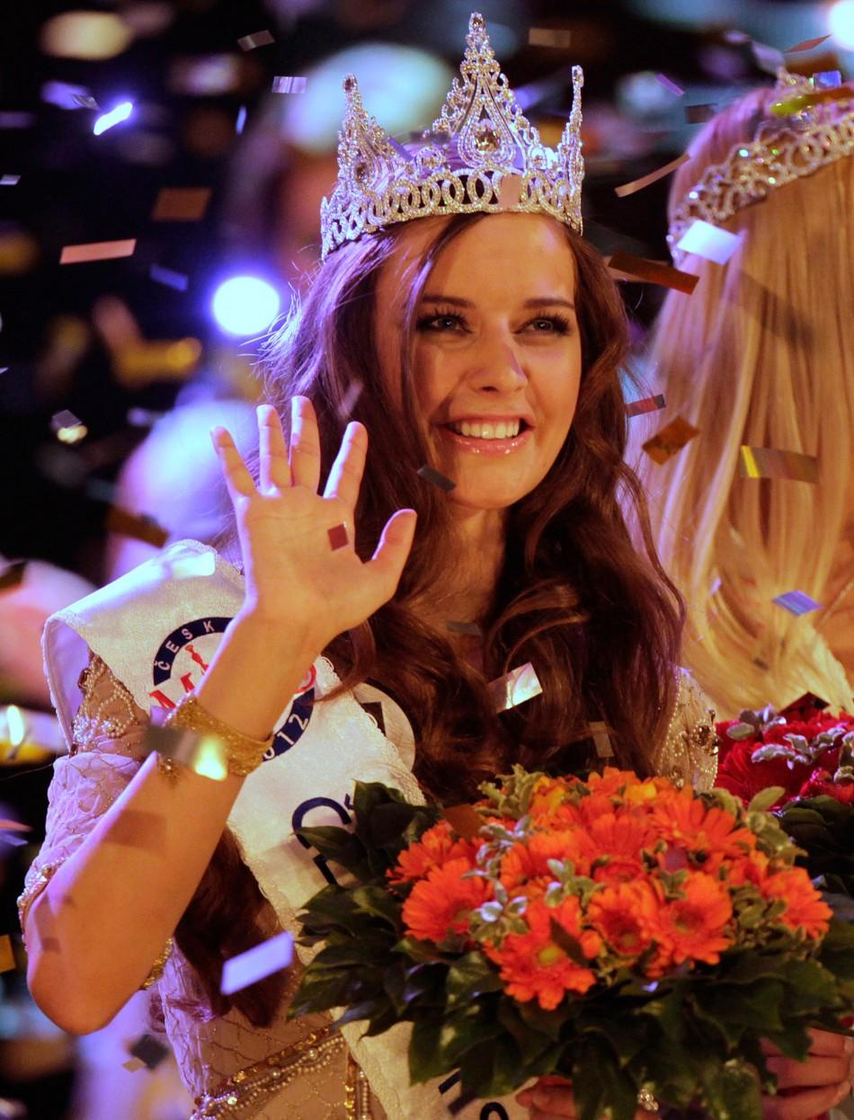 Tereza Chlebovska Crowned Czech Miss 2012 in Prague
