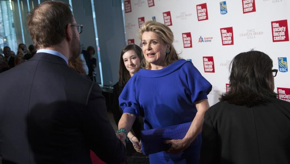 Catherine Deneuve Honored at the 39th Annual Chaplin Award Gala