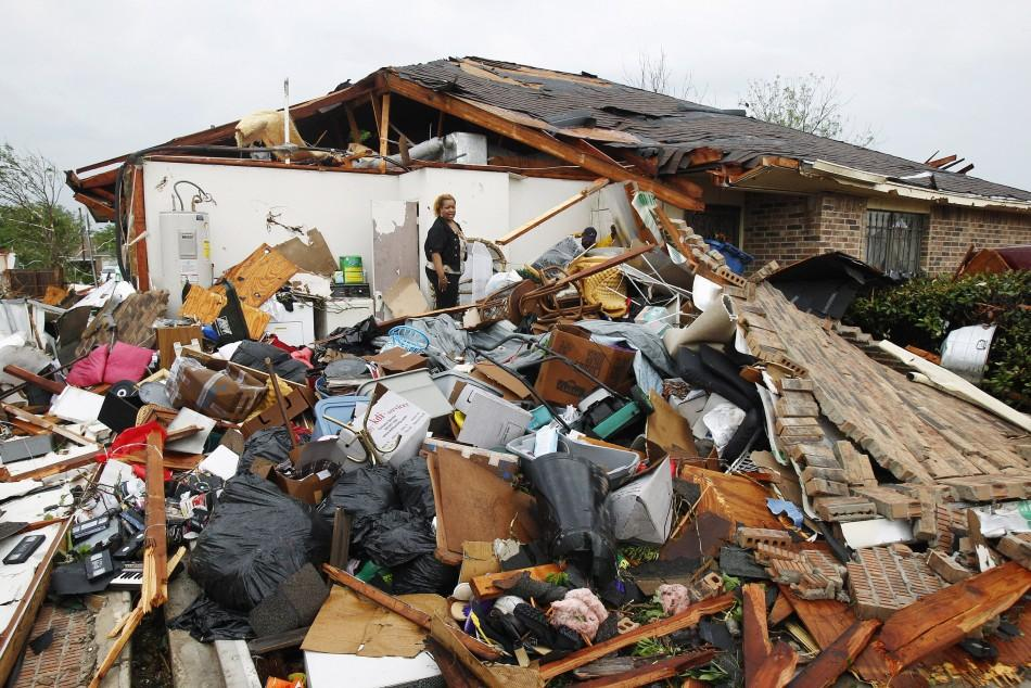 Texas Tornado in Pictures