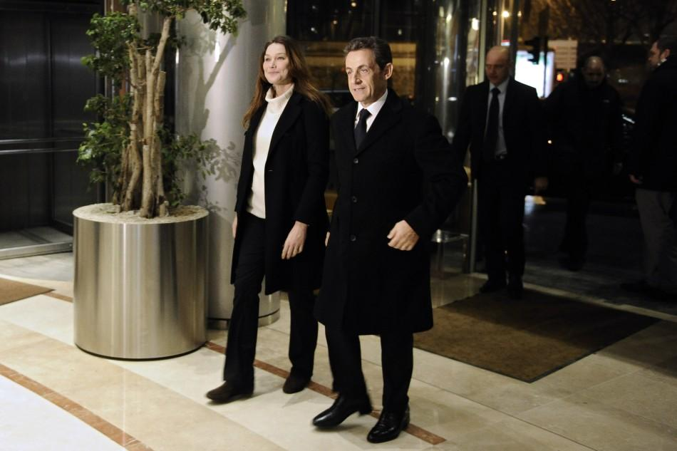 French Presidential Election 2012: Carla Bruni Joinson the Campaign Trail
