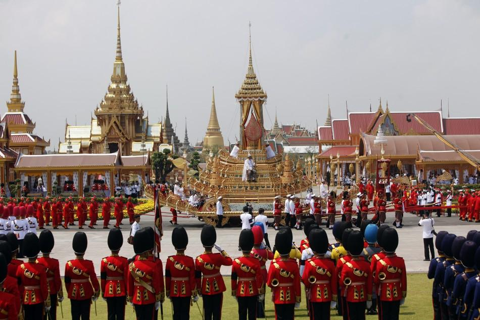Royal Cremation of Late Princess Bejaratana